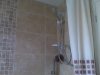 Bathroom to tiled finish